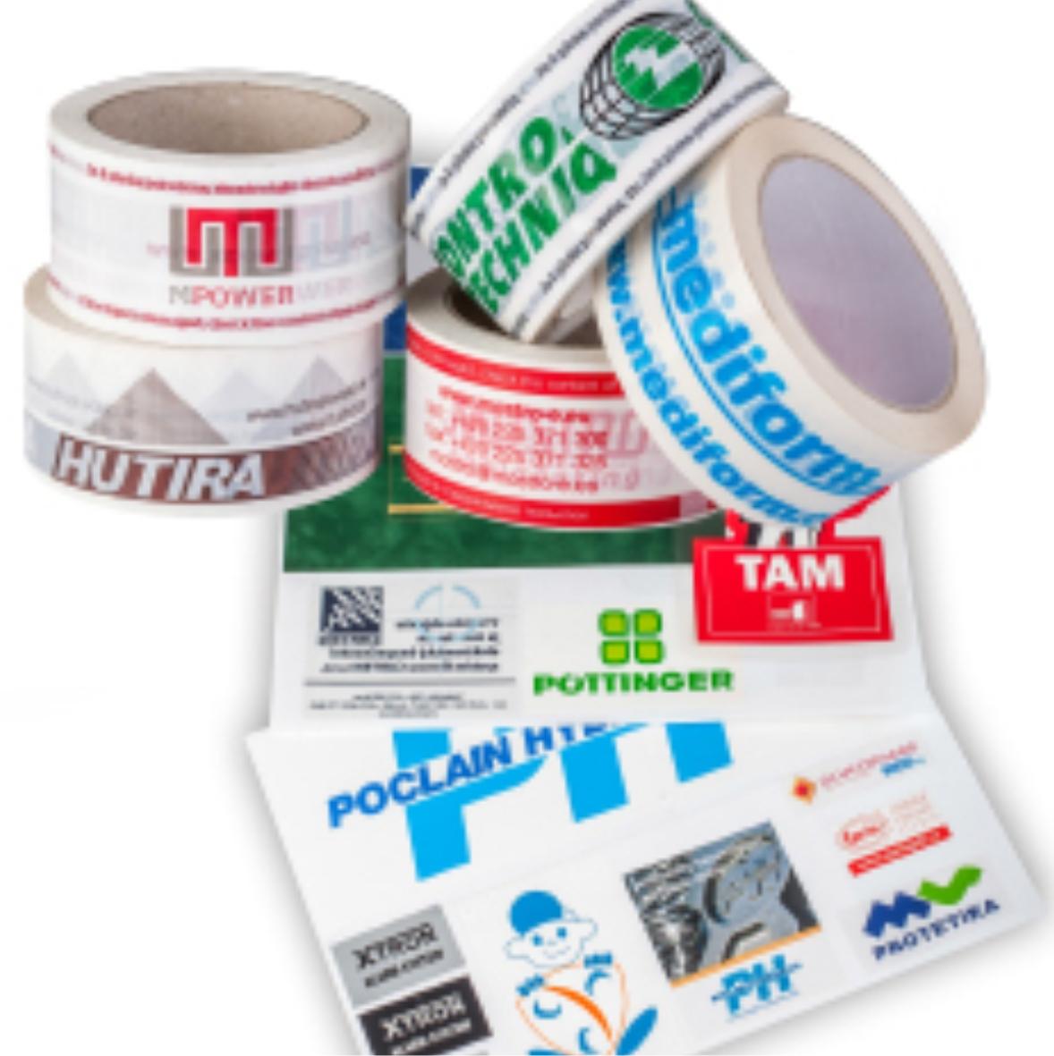 Lepící pásky a samolepky