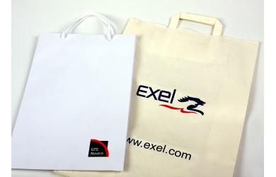 Potisk papírových a textilních tašek